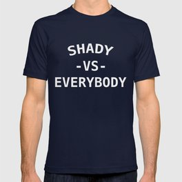 Shady VS Everybody White T-shirt