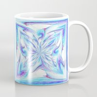 pantone Mugs featuring Butterfly - Pantone by Bella Mahri-PhotoArt By Tina
