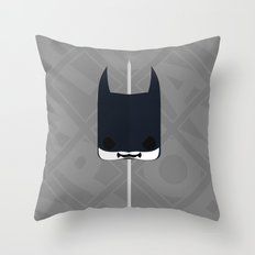Marshmallow Bat Throw Pillow