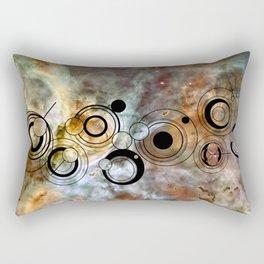 Doctor Who Geronimo Gallifrey with the Carina Nebula Rectangular Pillow
