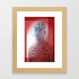 Editing beauty Framed Art Print