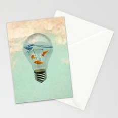 ideas and goldfish 02 Stationery Cards