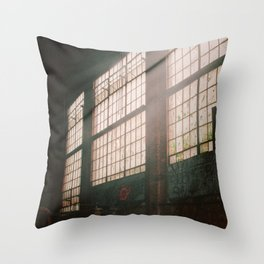 Let The Dust Settle Throw Pillow