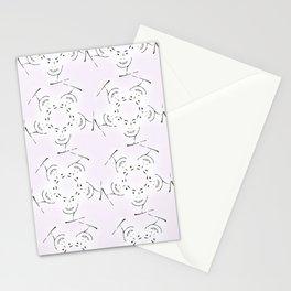 "series ""rostidade em mandala"" - lady Stationery Cards"