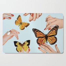 Social Butterflies Cutting Board