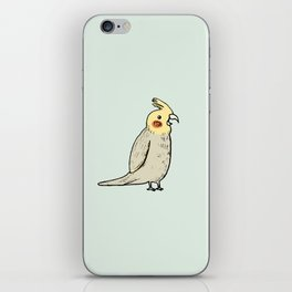 Happy Cockatiel iPhone Skin