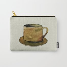 Mug on Plate Carry-All Pouch