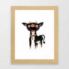 Cowter Space Framed Art Print