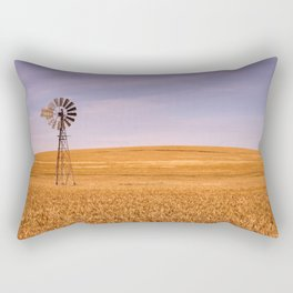 Ripening Cereal Rural Landscape in Australia Rectangular Pillow