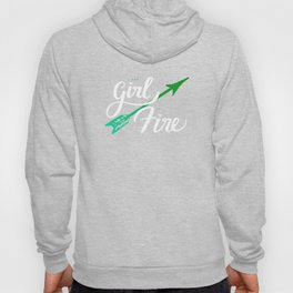 The Girl on Fire Hoody