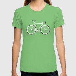 Red Fixed Gear Bike T-shirt