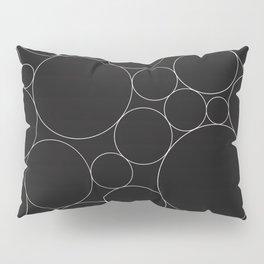 Circular Collage - Black & White I Pillow Sham