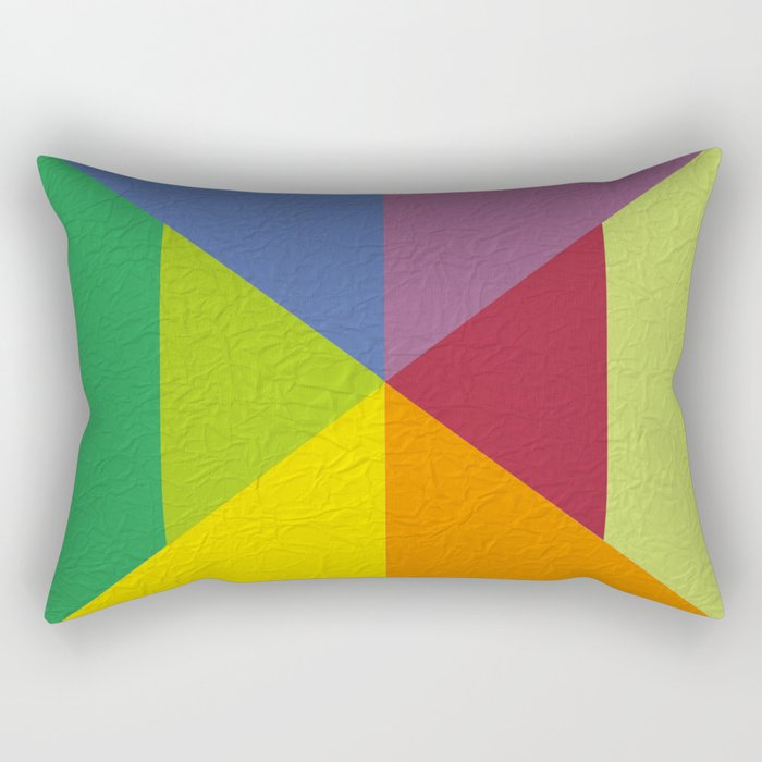 Abstract #241 Rectangular Pillow