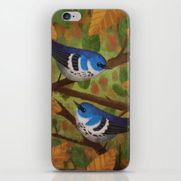 Cerulean Warblers iPhone Skin