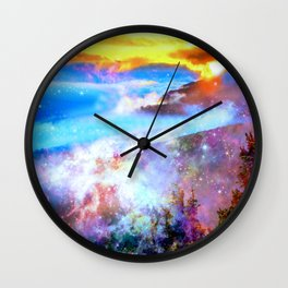 may your day be filled with magic Wall Clock