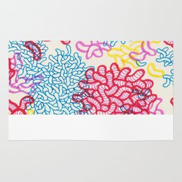 Party Painting Rug