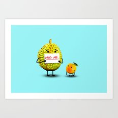 Please hug me? Art Print