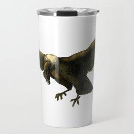 Vintage Vulture Travel Mug