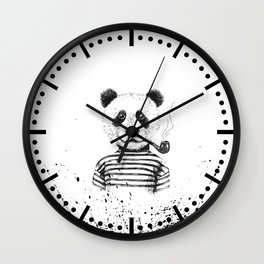 Ink Panda Wall Clock