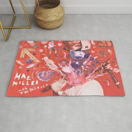 Mac Miller Live from Space Rug