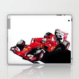 Resurgent in red Laptop & iPad Skin