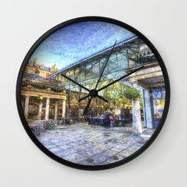 Covent Garden London Oil Art Wall Clock