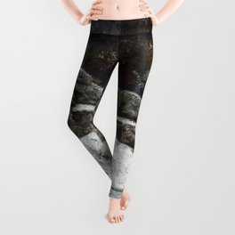 """Gustave Courbet """"The Winter (L'Hiver)"""" Leggings"""