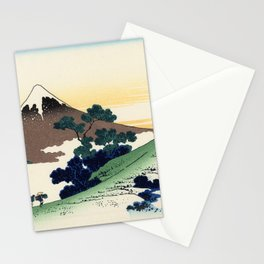 Katsushika Hokusai - 36 Views of Mount Fuji (1832) - 8: Inume Pass, Kōshū Stationery Cards