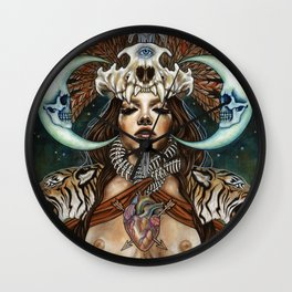 Pull Me Out From Inside Wall Clock