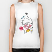 candy Biker Tanks featuring candy by Know me