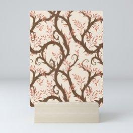Entangled - Pink and Cream Mini Art Print