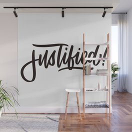 Justified by Faith Wall Mural