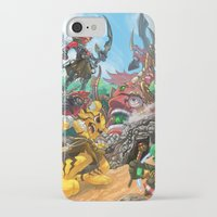 fight iPhone & iPod Cases featuring Fight by Jengslizer