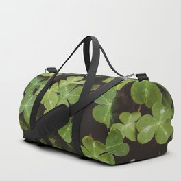 Redwood Sorrel - Nature Photography Duffle Bag
