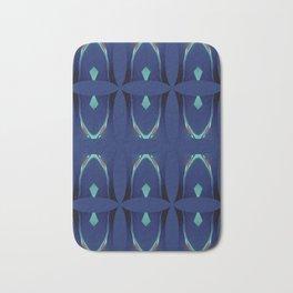 Arch Echoes on Blue Bath Mat