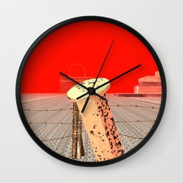 Squared: Shackle Wall Clock