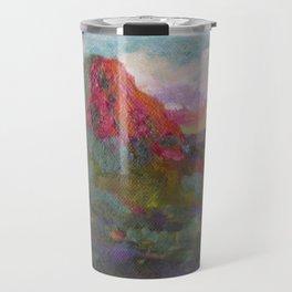 Thumb Butte at Sunset Travel Mug