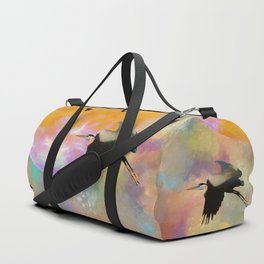 Heron Moon Duffle Bag