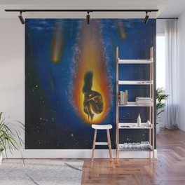 Burning out Wall Mural