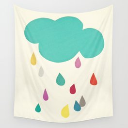Sunshine and Showers Wall Tapestry