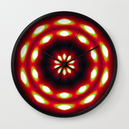 Supermoon Mandala Wall Clock