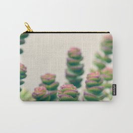Pretty Little Succulents Carry-All Pouch