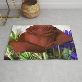 For Love Of The Red Rose Rug