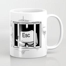 Esc Escape Coffee Mug