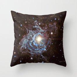 Space Galaxy Throw Pillow