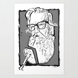 Robertson Davies (novelist, playwright, critic) Art Print