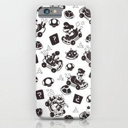 Mario Kart Pattern iPhone Case