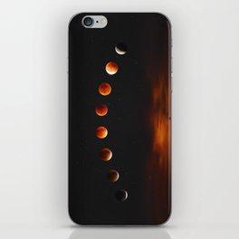 Super Blood Moon iPhone Skin