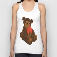 teddy bear Tank Tops featuring teddy bear by ArtSchool