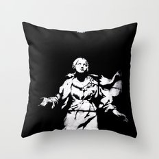 Holy Guns Throw Pillow